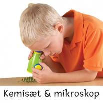 Kemisæt & mikroskop