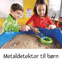 Metaldetektor til børn