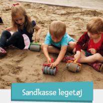 Sandkasse legetøj