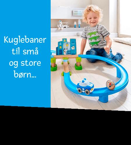 Kuglebaner til små og store børn