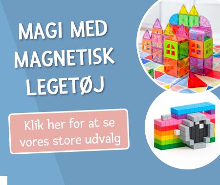 Magi med magnetisk legetøj