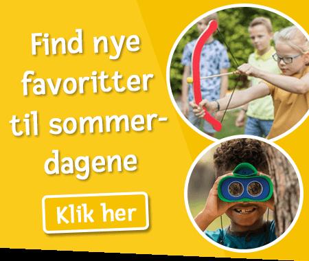 Find nye legetøjsfavoritter til sommerdagene