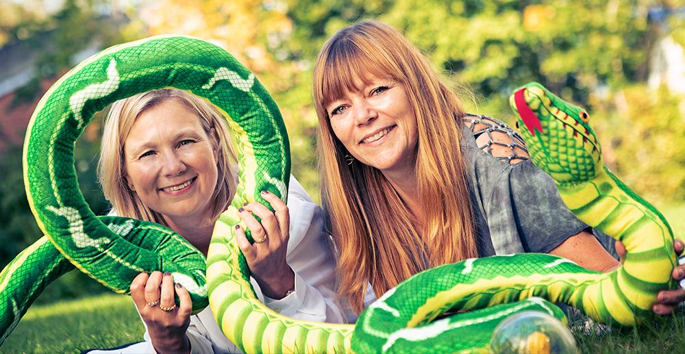 Legetanterne Jane og Ann